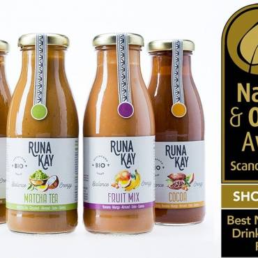 RUNAKAY, FINALIST FOR BEST ORGANIC DRINK AT  NORDIC ORGANIC FOOD FAIR