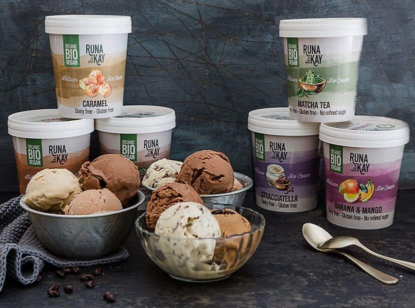 RUNAKAY deliciosos helados veganos y ecológicos
