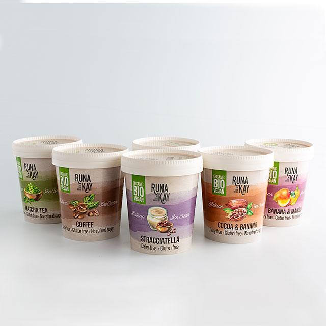 Pack degustación helados veganos y bio